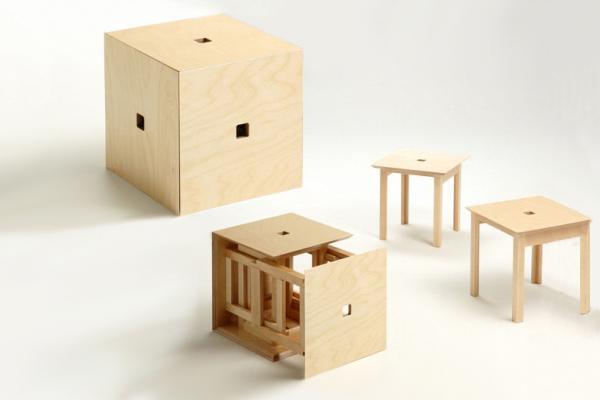 табурет куб