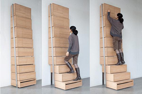 шкаф ступени