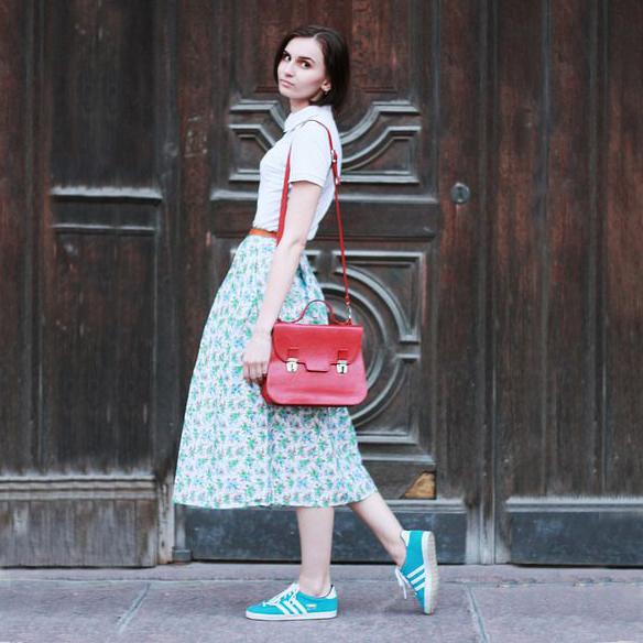 Юбки миди – мода 2016
