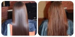 желатиновое ламинирование волос