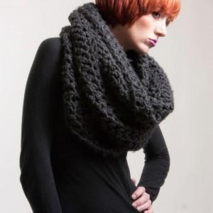 как завязывать шарф снуд