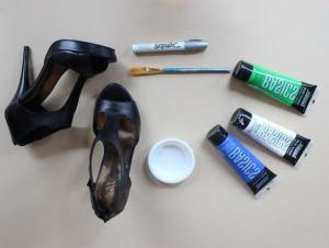 покрасить обувь выбор краски