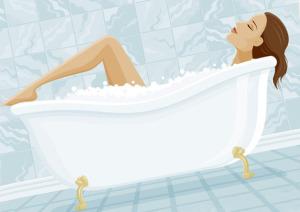 сохранить блеск ванны