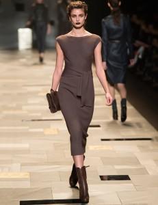 трикотажное платье деловой стиль