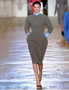 трикотажные платья минимализм