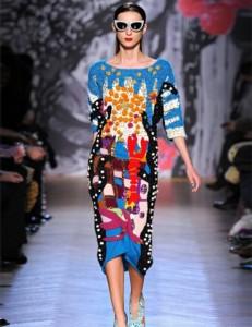 экстравагантные трикотажные платья