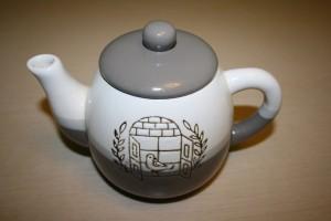 очистить стекляный чайник