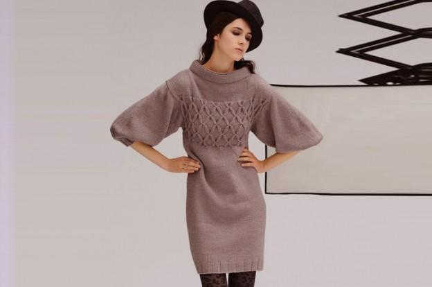 с чем носить трикотажное платье