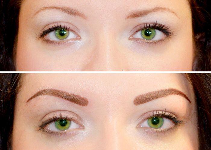 техники перманентного макияжа бровей