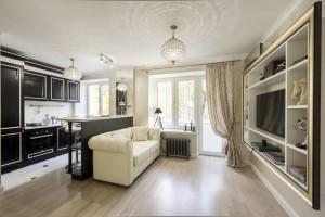 Дизайн малогабаритной однокомнатной квартиры 28 кв.м.