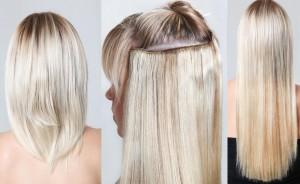 Прически на средние волосы с заколками прищепками 65