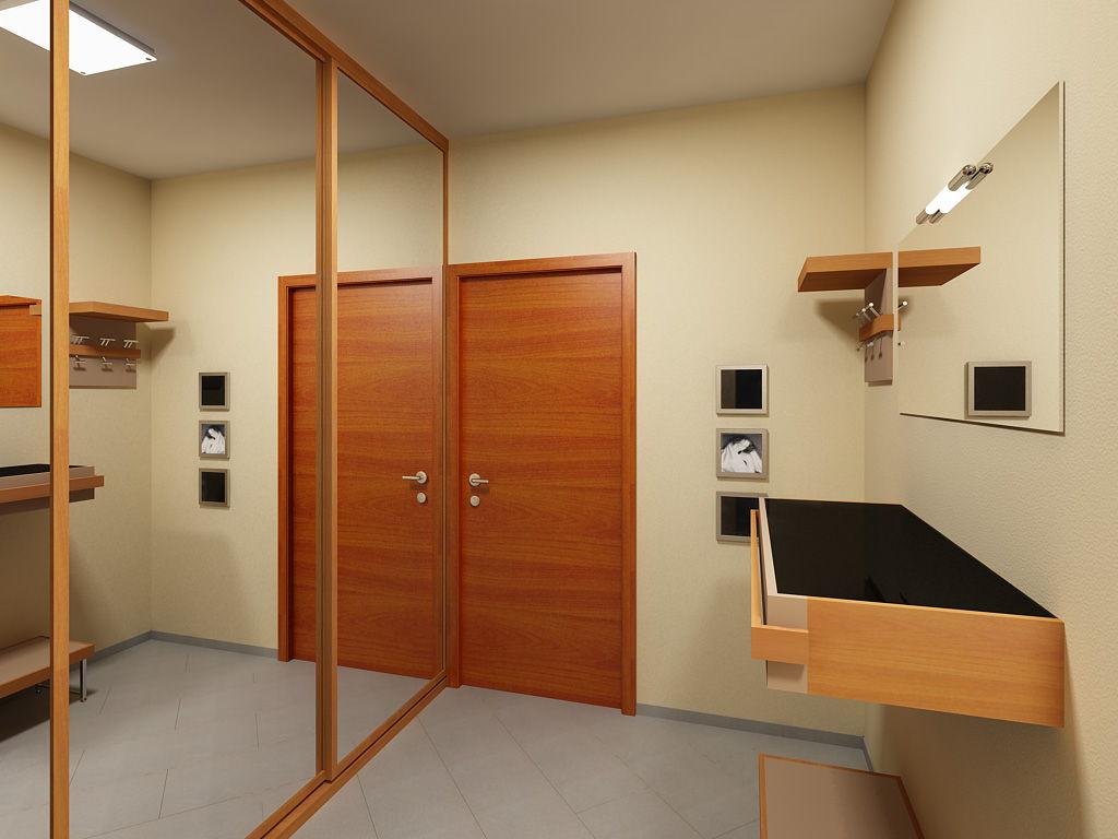 Дизайн прихожей в квартире: современные и красивые идеи (110.
