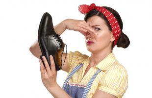 избавится от неприятного запаха обуви