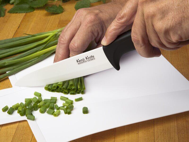 нож их керамики
