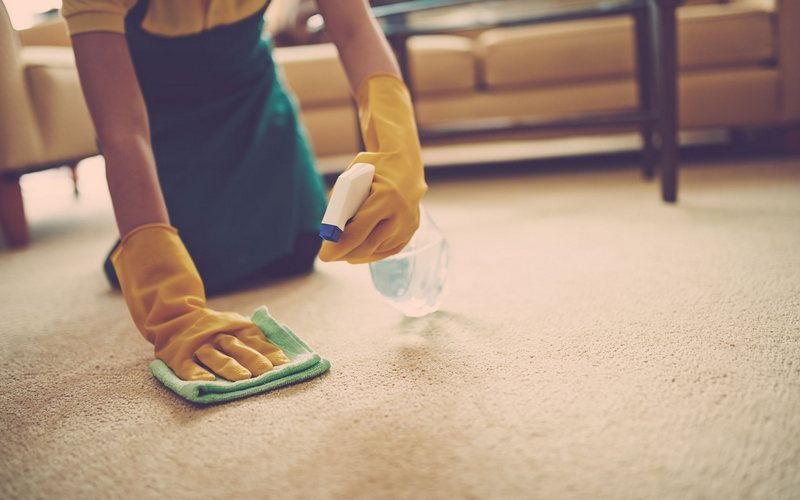 очистка ковров из натурального ворс