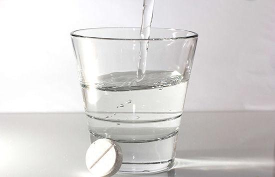 аспирин от пятен пота