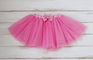накрахмаленная юбка из фатина