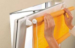 стирка рулонных штор в домашних условиях