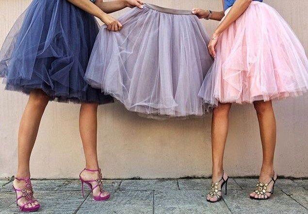 Как разгладить фатин на платье