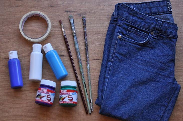 средства для окрашивания джинс