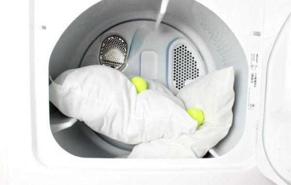 стирка перьевой подушки в стиральной машинке автомат