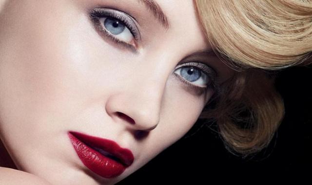 макияж с использованием лака для губ