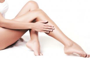 гладкие ножки в домашних условиях
