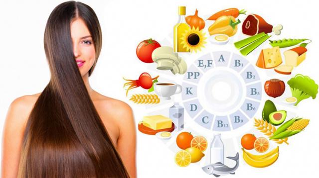 полезные продукты для роста волос