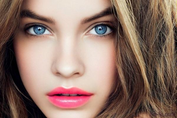 нюдовый мейкап для голубых глаз