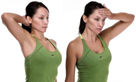 упражнения для шейного отдела с утяжелением