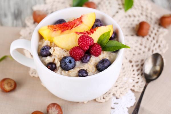 овсянка на завтрак